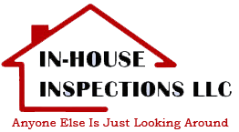 In-House Inspections LLC logo. As it says, Anyone Else Is Just Looking Around.