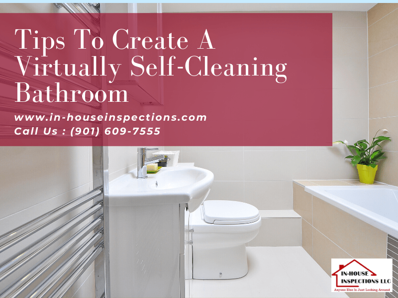 self cleaning bathroom in house
