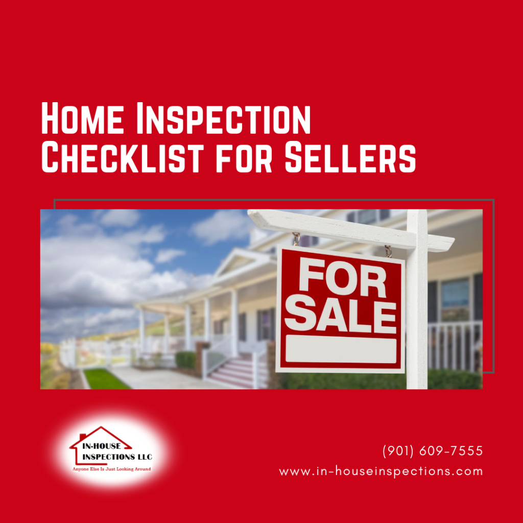 In House Inspections Home Inspection Checklist for Sellers